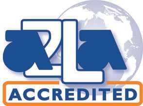A2LA 2010 color accredited symbol