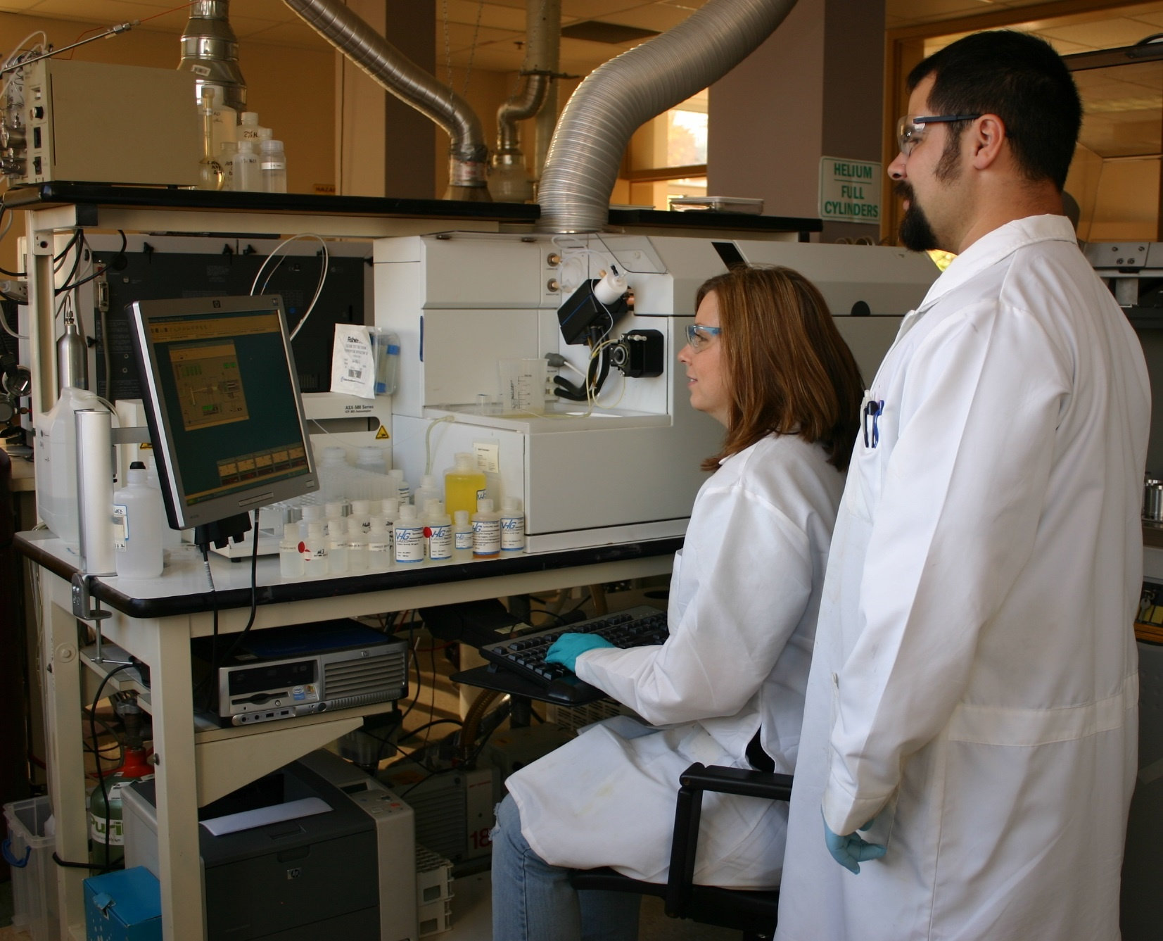 ICP-OES Laboratory