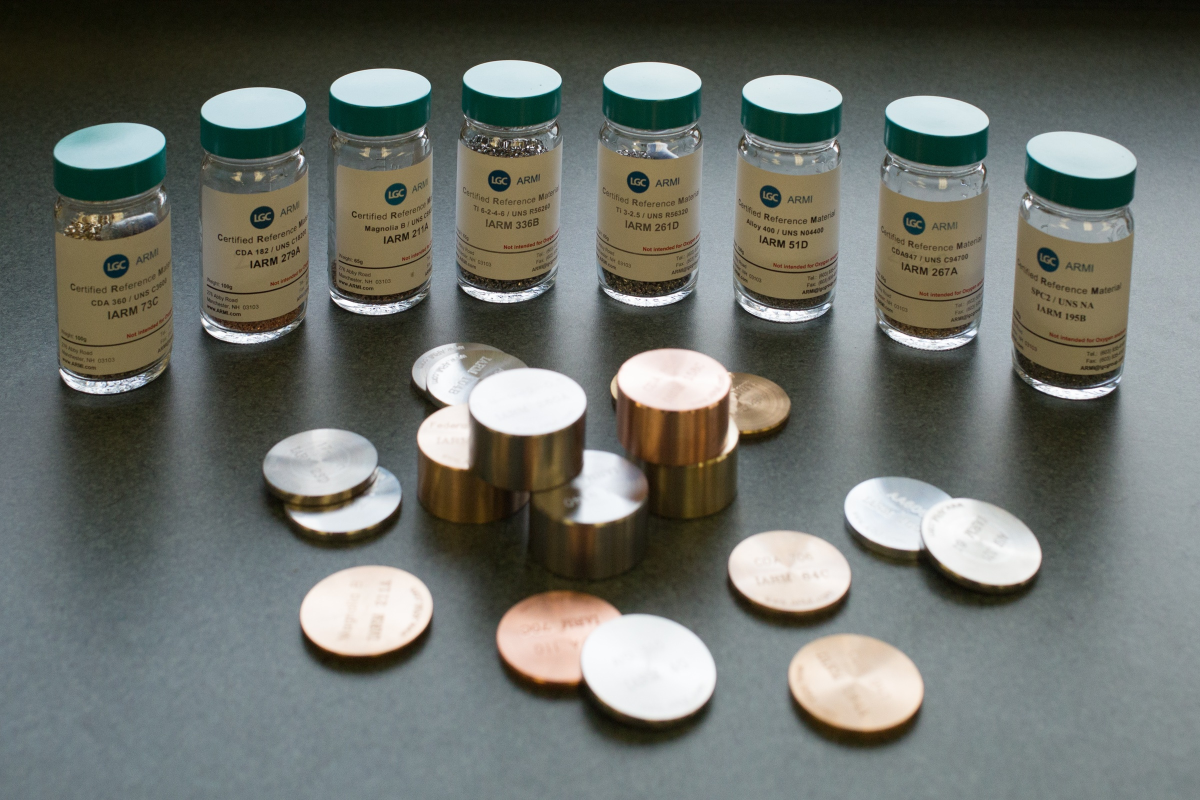 Titanium And Nickel Alloy Reference Materials